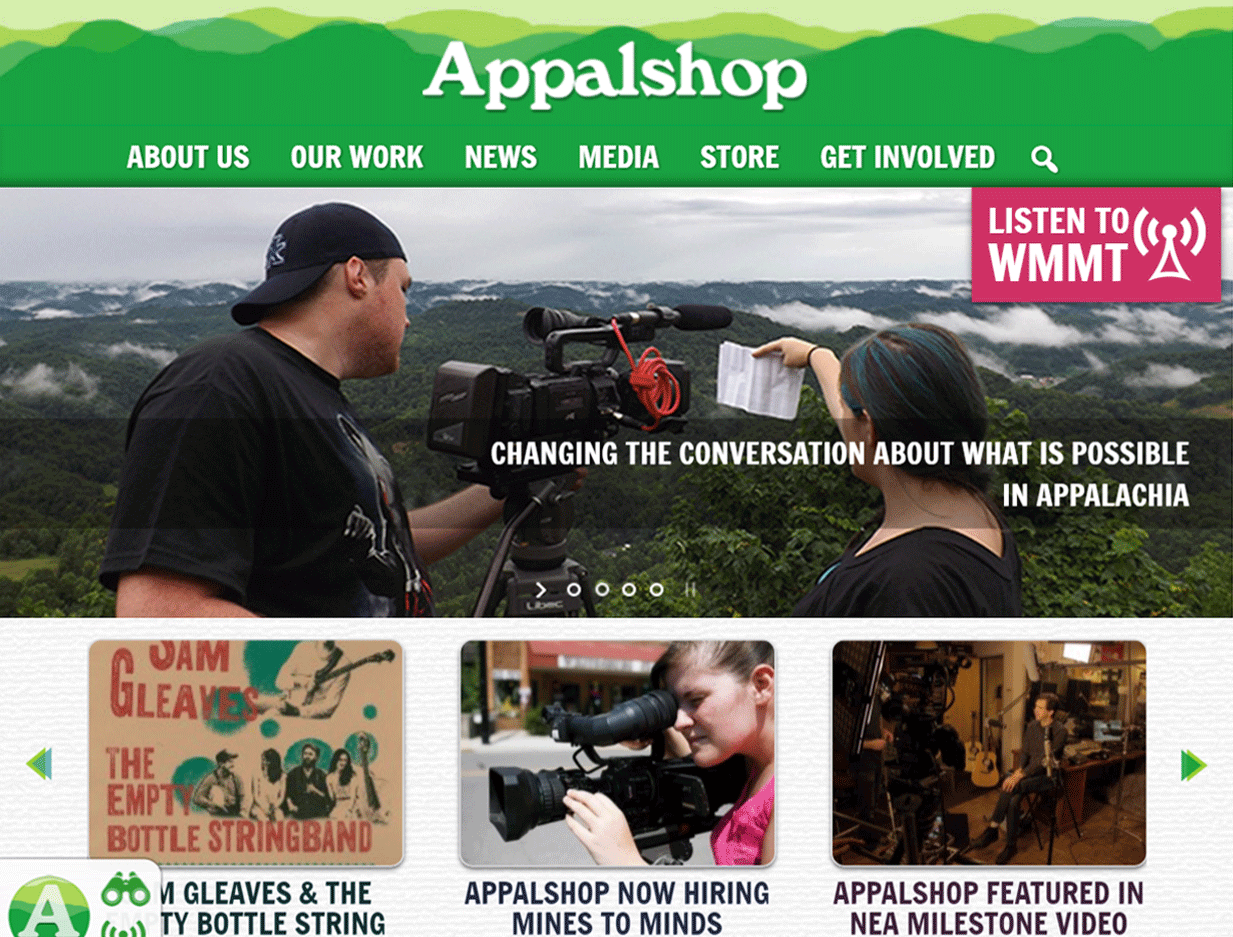 Appalshop-home-page
